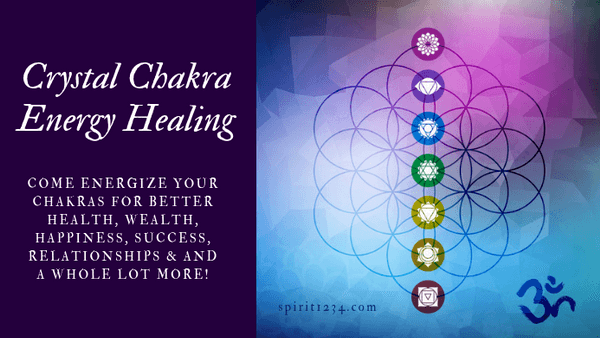 Crystal Chakra Energy Healing: Full Day Program