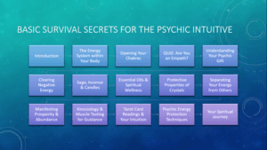 Map Pasic Survival Secrets
