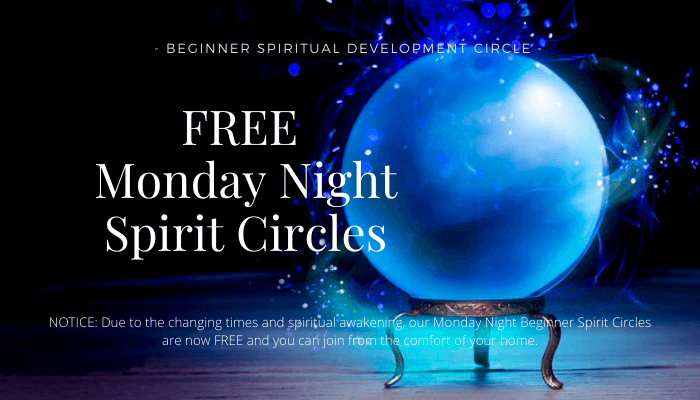 Free Monday Night Spirit Circles