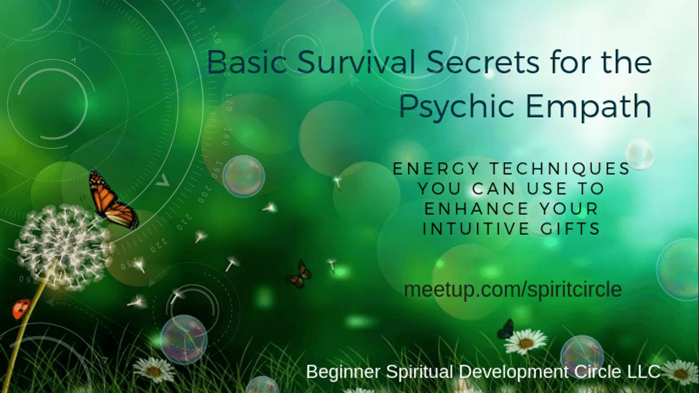 Survival Secrets and Energy Techniques