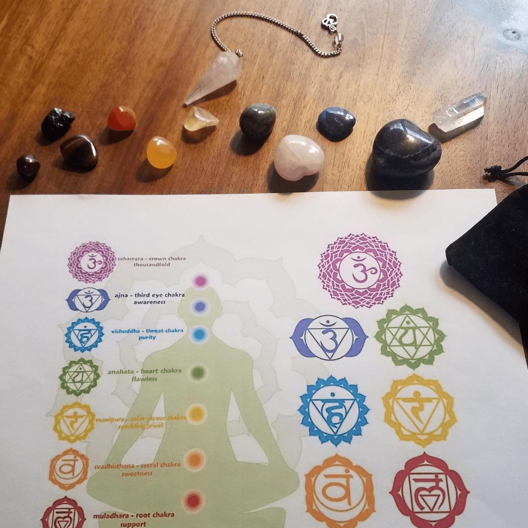 Crystal Chakra Energy Healing