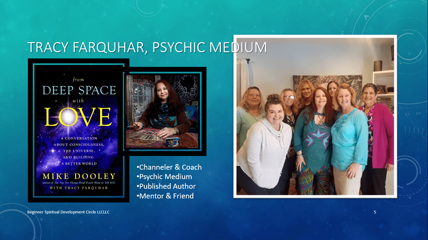 Tracy Farquhar, Psychic Medium